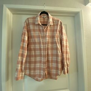 Relaxed Plaid Shirt - Madewell (L)